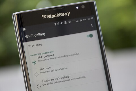 How to enable WiFi calling on your BlackBerry Priv