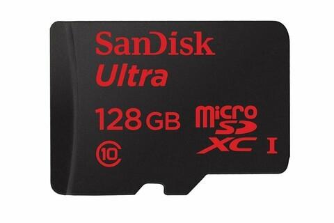 128GB SanDisk Ultra microSD card