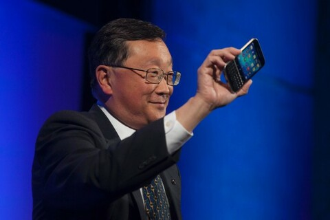 John Chen talks to CNN Money about the saturated smartphone market