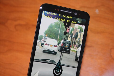 Turn your phone into a dashboard camera with DashCam Pro