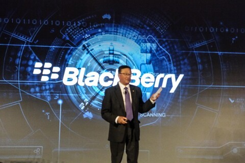 """So if BlackBerry Mobile builds phones, what does BlackBerry sell now?"""