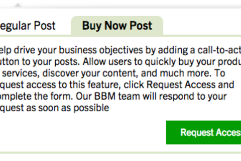 BlackBerry adds 'Buy Now Post' options to BBM Channels