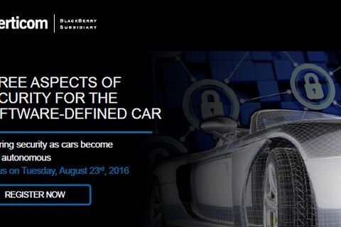 Learn how Certicom ensures security as cars become more autonomous