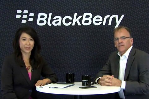Marty Beard discusses DTEK60, BlackBerry's overall software strategy and the Enterprise of Things