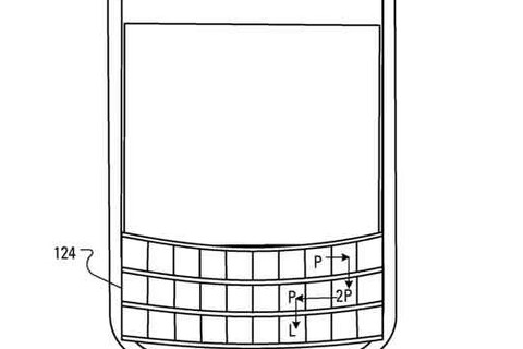 New patent shows how BlackBerry plan to employ authentication using their touch-sensitive keyboard