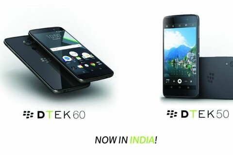BlackBerry and Optiemus announce the DTEK50 and DTEK60 in India