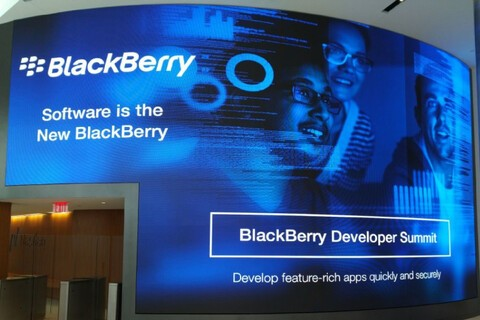 BlackBerry unveils their expanded developer platform at BlackBerry Developer Summit