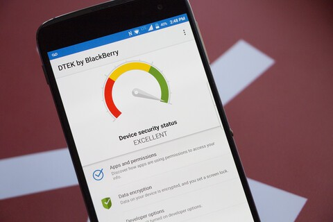 BlackBerry's DTEK app updated with bug fixes and improvements
