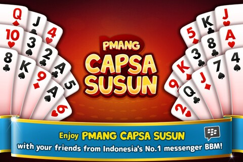 BBM introduces its first themed card game Pmang Capsa Susun in Indonesia