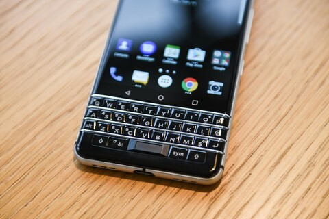 Fingerprint Cards powers the in-keyboard fingerprint sensor on the BlackBerry KEYone