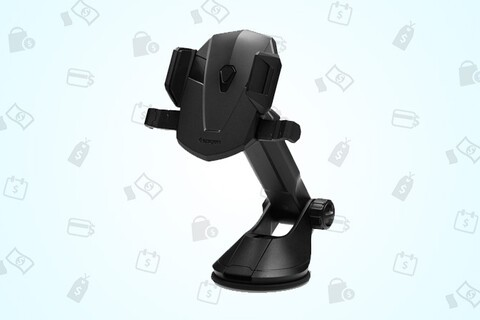 Keep your eyes on the road and phone safe with this car mount for just $15 for a limited time!