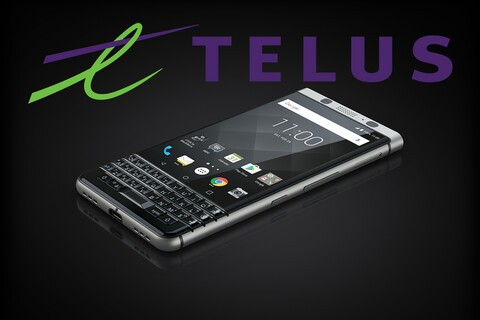 The BlackBerry KEYone will be available from TELUS starting in April