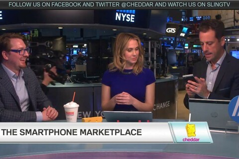 Watch the replay of CrackBerry Kevin discussing the BlackBerry KEYone on Cheddar!