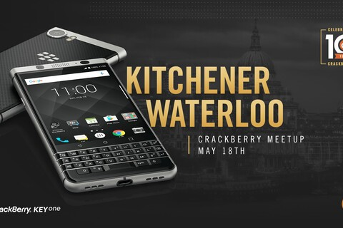 RSVP now for our Ottawa, Montreal & Waterloo/Kitchener BlackBerry KEYone Meetups!