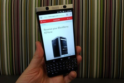 BlackBerry KEYone now available for pre-order from Rogers in Canada!