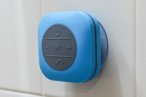 Take your tunes into the shower with this $20 speaker
