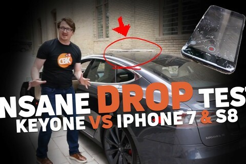 """BlackBerry KEYone shows it can take a beating in this """"real world"""" durability test video!"""
