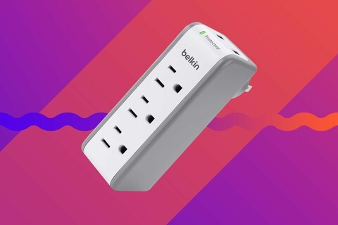 Protect your devices as they charge with these discounted Belkin Surge Protectors