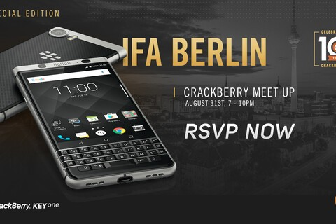 RSVP Now for a Special Edition CrackBerry Meetup in Berlin on August 31st!
