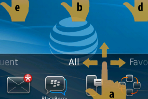BlackBerry 6 Poll: Do you use the new 'navigation bar' to move between homescreen views (All, Favorites, Media, etc.)??