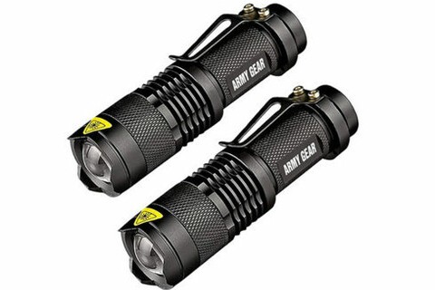 Get two powerful military-grade flashlights for $18