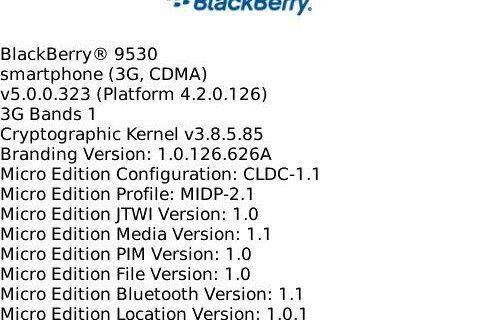 Leaked: OS 5.0.0.323 for the BlackBerry Storm 9530!