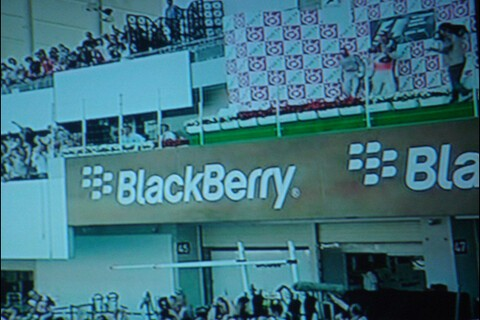 BlackBerry Advertising Shows Up In Formula 1 at the Japanese Grand Prix