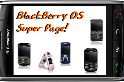 Introducing the BlackBerry OS Super Page!