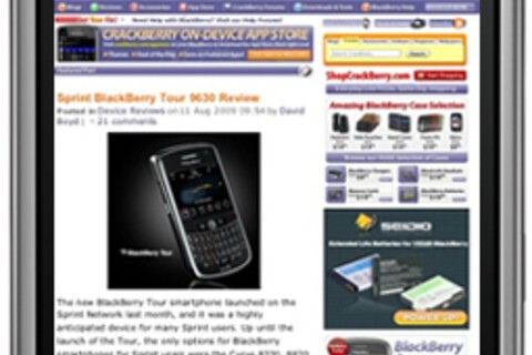 BlackBerry to Have Native Web Browser as Good as iPhone's Safari by Next Summer? And other BB Browser Tid Bits...