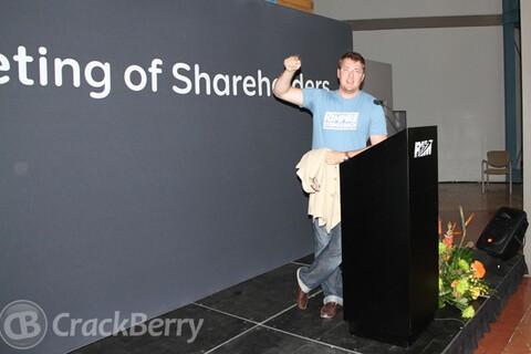 BlackBerry AGM!