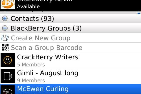 CrackBerry Poll: How Many BlackBerry Messenger Groups do you belong to? What kind of groups are they?