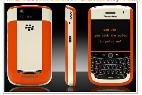 Contest: Win a Custom Painted ColorWare BlackBerry Tour!!!