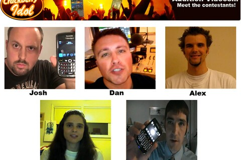 Get to know the CrackBerry Idol competitors - watch their audition videos! (part 5)