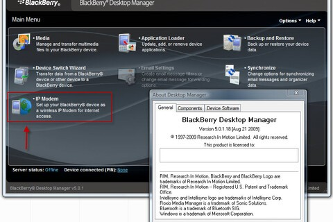 Desktop Manager: v5.0.1.16 Leaked; 5.0.1.18 Sneak Peek Shows Off New Features - IP Modem and Email Settings!