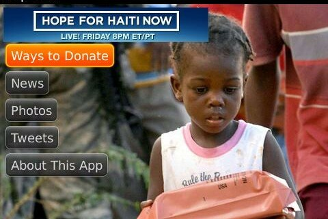 Support Haiti: Download the Help Haiti App for BlackBerry Smartphones and Make a Donation Today!