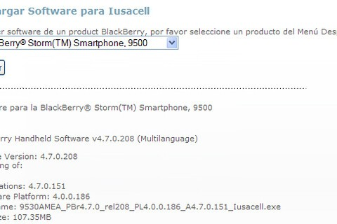Sorta Leaked: OS 4.7.0.151 for the BlackBerry Storm 9530!!