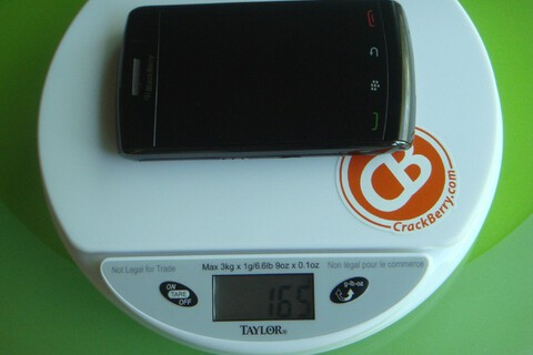 Tale of the Scale, Part II: Gone Digital - BlackBerry Storm 9550 Is Not Fat, It's Just Big Boned
