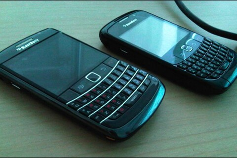 BlackBerry Onyx with Trackpad Spotted