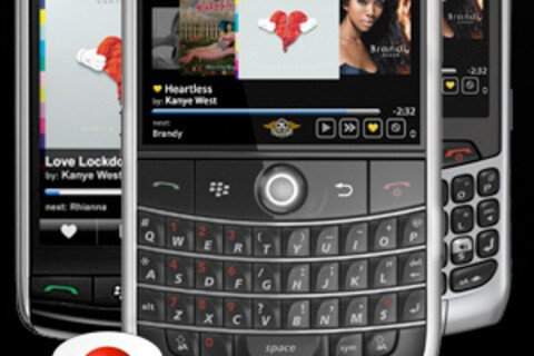 Slacker Radio Updated to version 2.0.45 for BlackBerry Bold, Tour and Curve