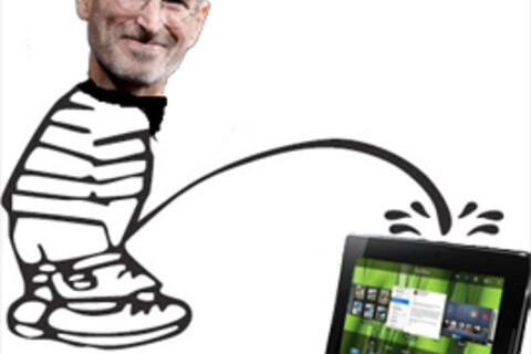 """CrackBerry Poll: Steve Jobs says 7"""" is too small... for a tablet. What do you think?"""