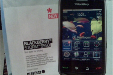 Oops: BlackBerry Storm2 9550 Shows Up In Upcoming Best Buy Mobile Buyer's Guide... Missing The 2