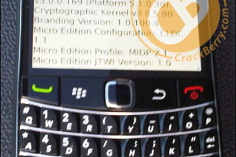 T-Mobile BlackBerry Bold 9700 Glimpsed in the Wild!