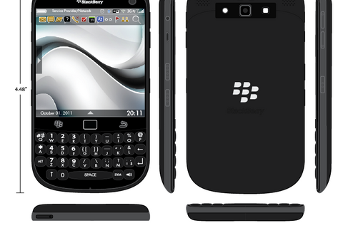 Friday Fun: What does your *dream* BlackBerry look like?  Is it anything like this BlackBerry Titan Concept?!