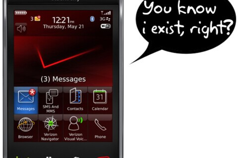 Where is the Verizon BlackBerry Storm 2 Announcement?