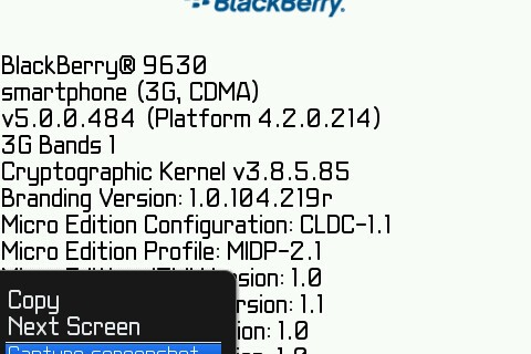 Official OS 5.0.0.484 for the BlackBerry Tour 9630 Now Available from Sprint