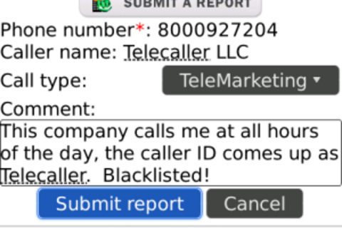 Call Control Blocks Unwanted Callers on Your BlackBerry - Get It Free Through April 21st