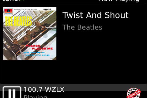 Bring your favorite FM stations to your BlackBerry with TuneIn Radio