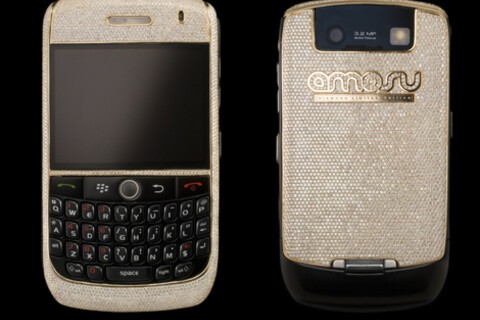 The World's Most Expensive BlackBerry - A $240k Curve 8900