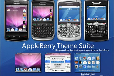 AppleBerry Theme Suite on Sale - 100 Copies To Give Away