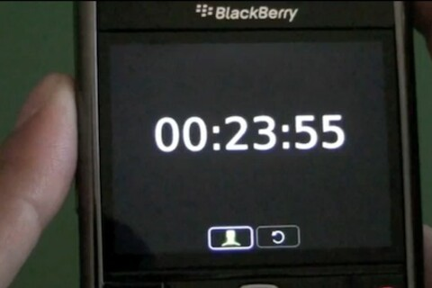 Quick TIp: Using the alarm, timer and stopwatch in the native clock application on your BlackBerry Smartphone